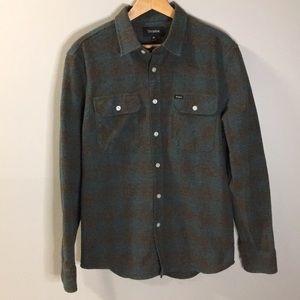 Brixton Dark Green Flannel